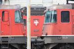 """Re 6/6 11645 """"Colombier"""", Buchs (06.08.2011) ©pannerrail.com"""