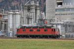 """Re 6/6  11619 """"Arbon"""", Domat-Ems (16.03.2011) ©pannerrail.com"""