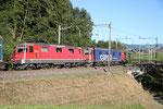 Re 4/4, 11332, Rotkreuz (03.09.2013) ©pannerrail.com