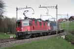 Re 4/4, 11348, Rotkreuz (18.04.2013) ©pannerrail.com