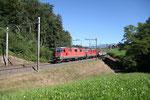 Re 4/4, 11238, Rotkreuz (03.09.2013) ©pannerrail.com