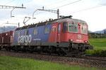 """Re 6/6 11661 """"Gampel-Steg"""", Rotkreuz (30.04.2012) ©pannerrail.com"""