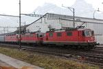"Re 6/6 11624 ""Rothrist"", Schwyz (21.03.2012) ©pannerrail.com"