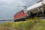 """Re 6/6 11604 """"Faido"""", Mels (27.07.2011) ©pannerrail.com"""