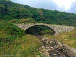 Teil der schottischen Pony-Express Route
