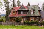 Holzhaus im Zakopane-Stil