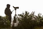 Es gibt auch einsame Orte für Ornithologen