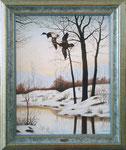 Winterlandschaft mit Enten 03