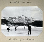 Cricket On Ice, St. Moritz v Davos