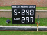 Swiss cricket 2010 - Scoreboard