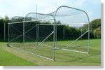 Swiss cricket nets