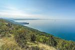 Über der Adria, kurz vor dem Ziel Trieste © Rosenwirth