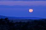 Monduntergang am Lago Roca, Parque Nacional Los Glaciares, Argentinien © Rosenwirth