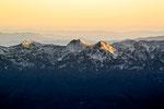 Abendstimmung in den Julischen Alpen mit Blick nach Süden © Rosenwirth