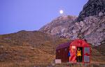 Mondaufgang am Bivacco Ernesto Lomasti, Karnischer Hauptkamm © Rosenwirth