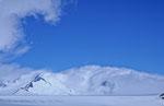 Auf dem Patagonischen Inlandeis, in den Wolken der Volcan Lautaro © Rosenwirth