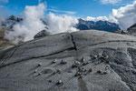 Gletscherschliff an der Vedretta Mandrone © Rosenwirth