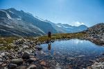 Kleinsee am Salesia-Höhenweg, Granatspitzgruppe © Rosenwirth