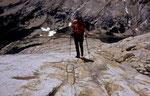 Trekking in den Patagonischen Anden - endlose Gletscherschliffe © Rosenwirth