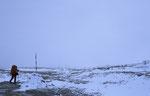 Die Sella-Hochfläche bei einem herbstlichen Schlechtwettereinbruch © Rosenwirth