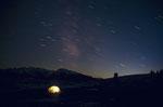 Sternenhimmel über der Lüsner Alm © Rosenwirth