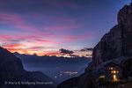 Abendstimmung am Rifugio Brentei © rosenwirth-dia@web.de