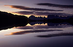 Vor Sonnenaufgang am Lago Nero, Presanellagruppe © Rosenwirth