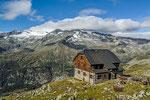 Kattowitzer Hütte gegen die Hochalmspitze © Rosenwirth