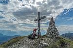 Am Gipfel des Schmittenstein, Salzburger Voralpen © Rosenwirth