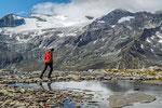 Im Kar oberhalb der Kattowitzer Hütte © Rosenwirth