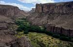 Cañon de los Manos, Patagonische Steppe, Argentinien © Rosenwirth