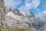 am Sentiero Orsi mit Punta Iolanda und Cima Roma © rosenwirth-dia@web.de