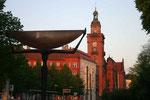 Pankower Anger mit Rathaus