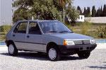 Peugeot 205 - E85