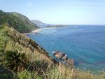 ヒエン浜を望む
