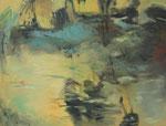 Landschaft, 2011, 60 x 80 cm, Öl/Lw.