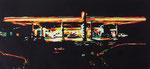 2015 Abwarten, 20 x 52 cm, Farbholzschnitt - Auflage 10