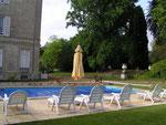 Le parc vu de la piscine
