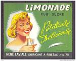 """Limonade Laviale """"pétillante, délicieuse,fabricant à Ribérac"""""""