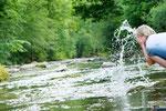 Schwimmen an der Ybbs