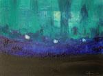 FlussBad, Monat August, 30 x 40 cm