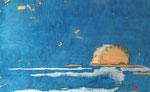 éclat de lumière (90x 55 cm) . Art contemporain , marqueterie ( vendu)