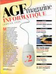 AGF magazine INFORMATIQUE n° 2 - janvier 2000