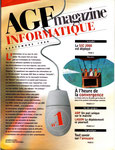 AGF magazine INFORMATIQUE n° 1 - septembre 1999