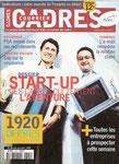 """Courrier Cadres n°1325 - novembre 1999 [avec la """"start-up"""" de Bataille & Fontaine (de la télé) en couverture]"""