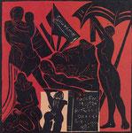 Invito per mostra di pittura e grafica (1981)