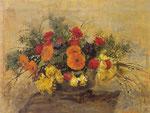 Composizione di fiori gialli e rossi (1939-40)