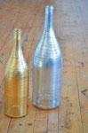 Vergoldet und versilbert - mit Querstreifen