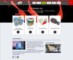 Website Etimark AG, Grabs