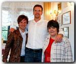Phil Stewman, Timo Hoffmann und ich